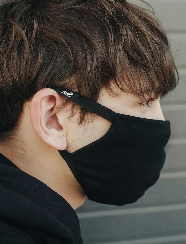 Staff Защитные Маски для лица многоразовые черные (Стафф) оригина - Фото 2
