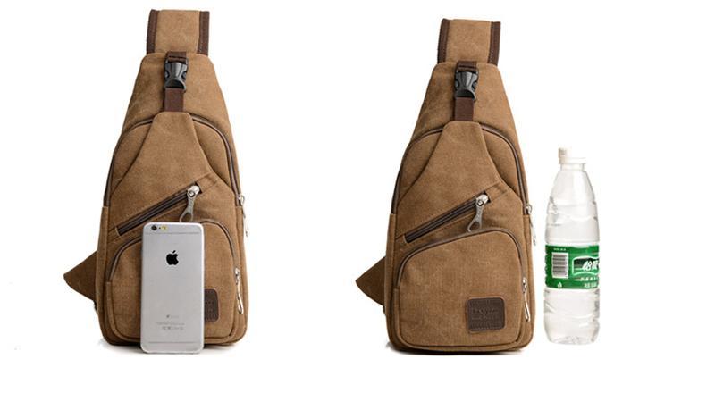 Мужской однолямочный рюкзак Fabra сумка-слинг - Фото 12