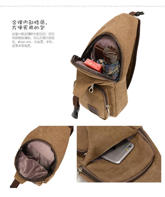 Мужской однолямочный рюкзак Fabra сумка-слинг - Фото 13