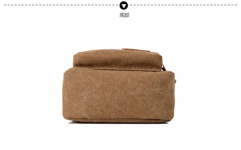 Мужской однолямочный рюкзак Fabra сумка-слинг - Фото 17