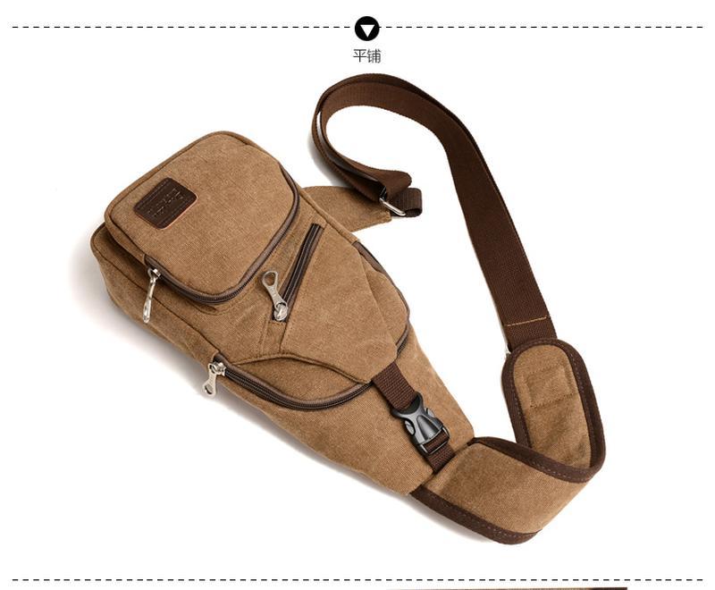 Мужской однолямочный рюкзак Fabra сумка-слинг - Фото 19