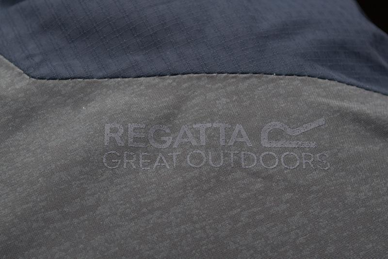 Куртка чоловіча regatta garforth ii navy grey - Фото 5