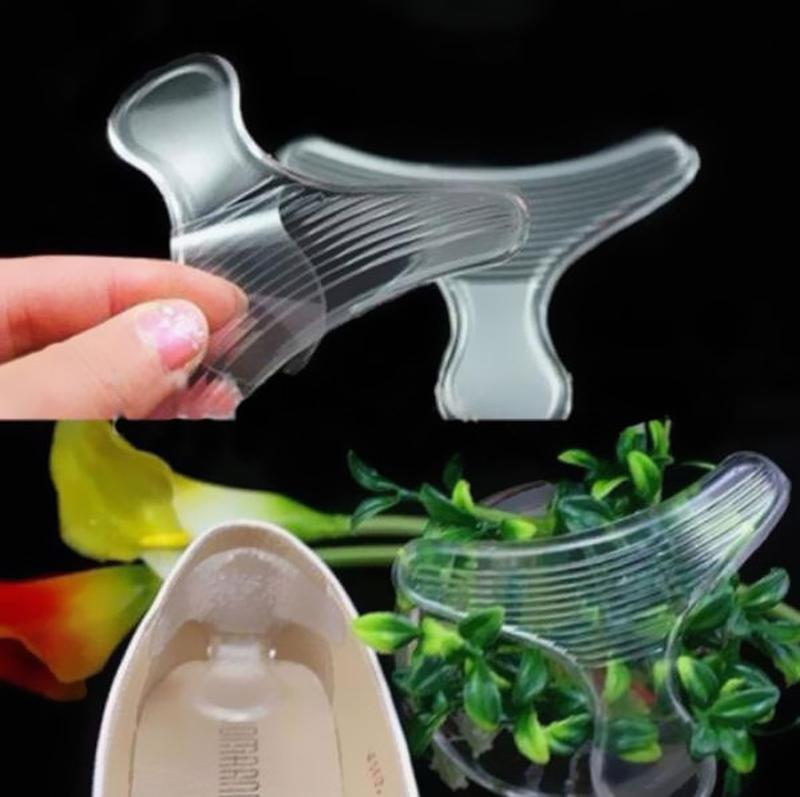 Силиконовые вкладышы в туфли с поддержкой пятки