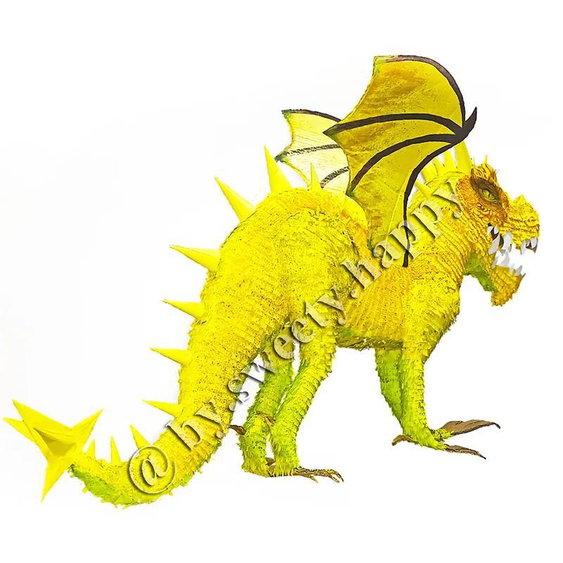 Пиньята Дракон, Динозавр pinata by Sweety - Фото 2