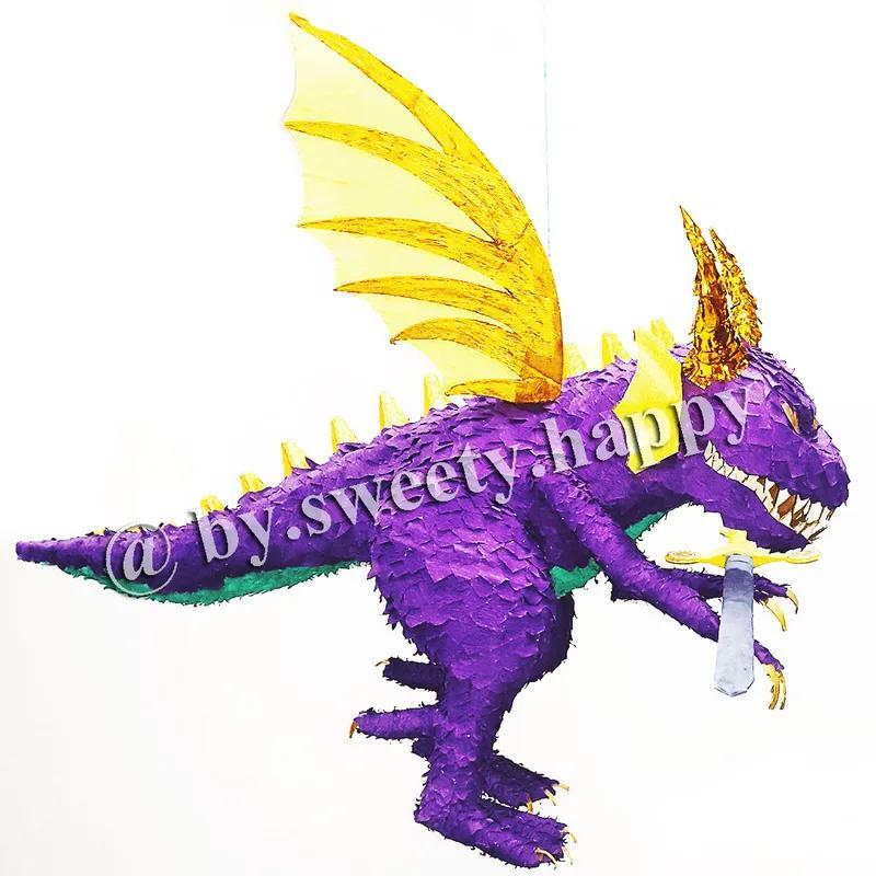 Пиньята Дракон, Динозавр pinata by Sweety - Фото 4