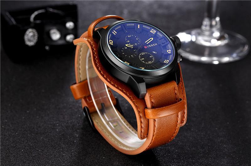 Часы наручные мужские CURREN BrBr M175 - Фото 2