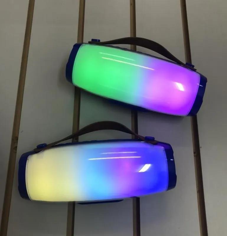 Беспроводная Bluetooth портативная колонка AK 205 | Светомузыка | - Фото 8
