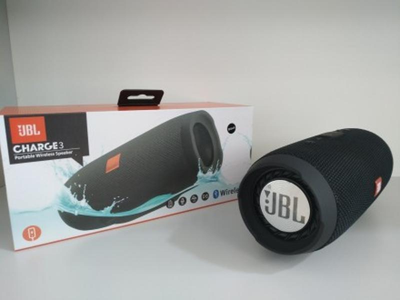 Портативная блютуз колонка JBL Charge 3 колонка с USB,SD,FM - Фото 5