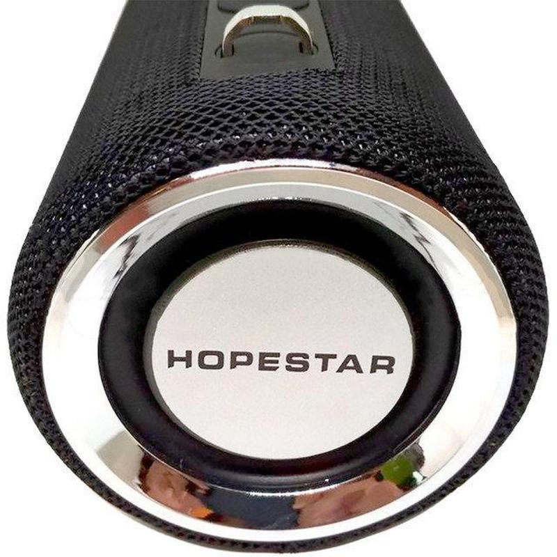 Портативная Мощная стерео колонка HOPESTAR H39 Оригинал, FM, SD - Фото 9