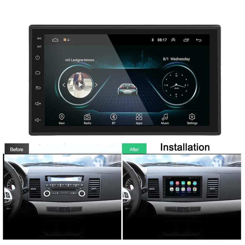 Автомагнитола 2 DIN 8701 Android, WiFi, Bluetooth, GPS - Фото 6