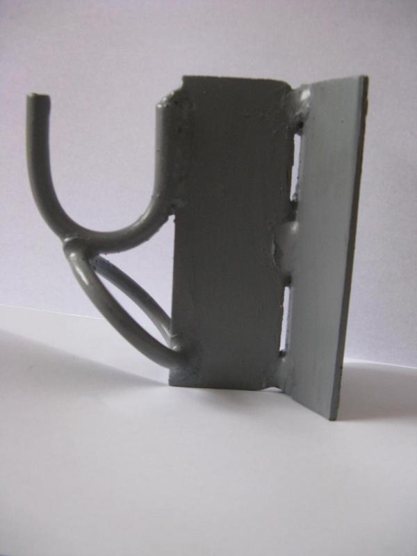 Гак, крюк для крепления СИП на столбах, на 2 ленты