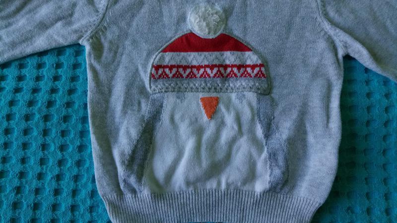 Кофточка свитерок  tu на 3-6мес.