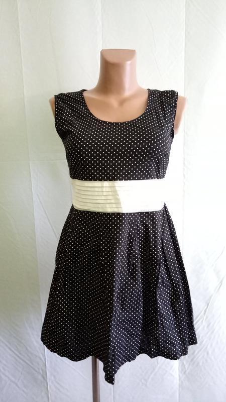 Платье итальянское из тонкого хлопка, р. 42-44.