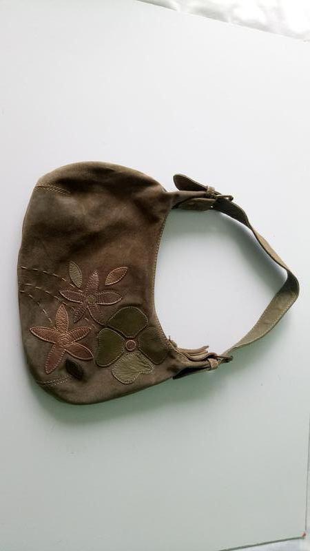Сумка сумочка next натуральная замша