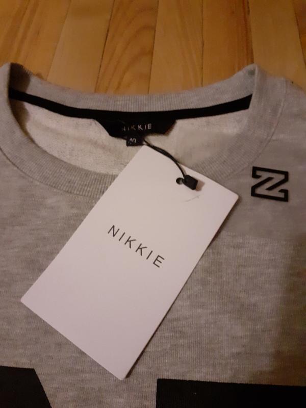 Свитшот новый оригинал nikkie - Фото 3