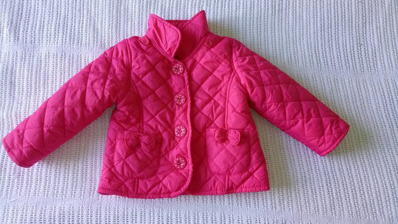 Куртка курточка matalan на 3-6 мес. сочный малиновый цвет