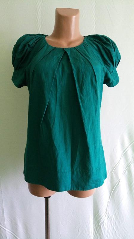 Блуза блузка шелковая monsoon, р. 42-44.