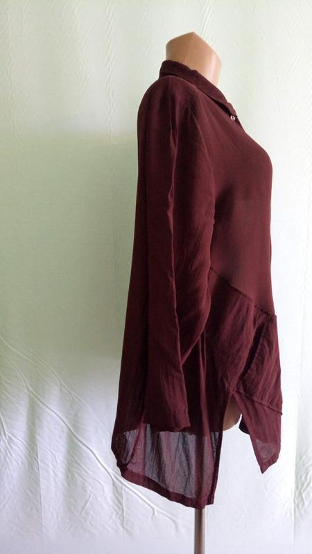 Блуза блузка шифоновая ann llewellyn ese, р. 48.