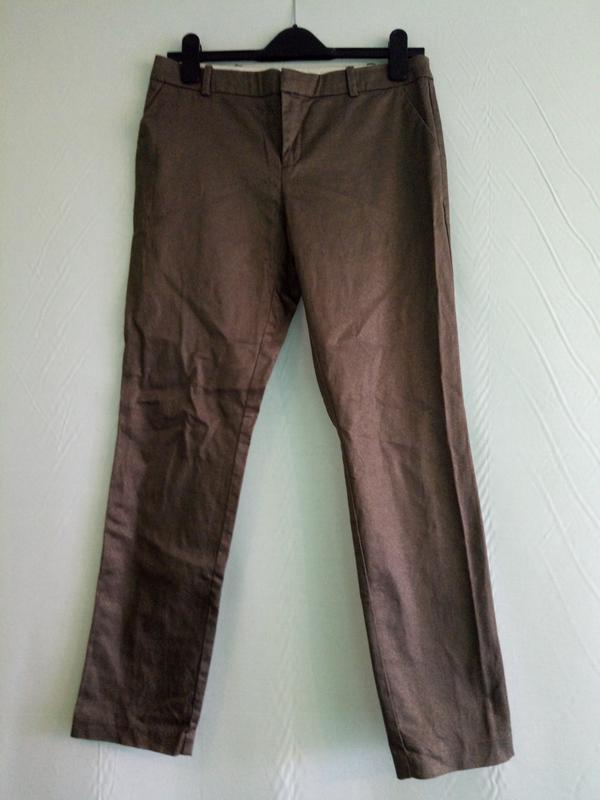 Брюки штаны с напылением promod, р 44.