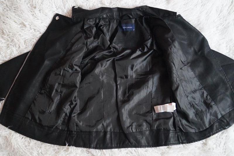 Куртка косуха женская кожаная турция - Фото 7