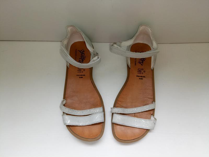 Босоножки сандалии кожаные bellamy, р. 33-34.