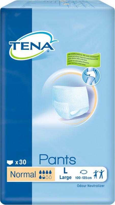 Подгузник -трусики для взрослых Tena Pants Normal L и М 30 шт