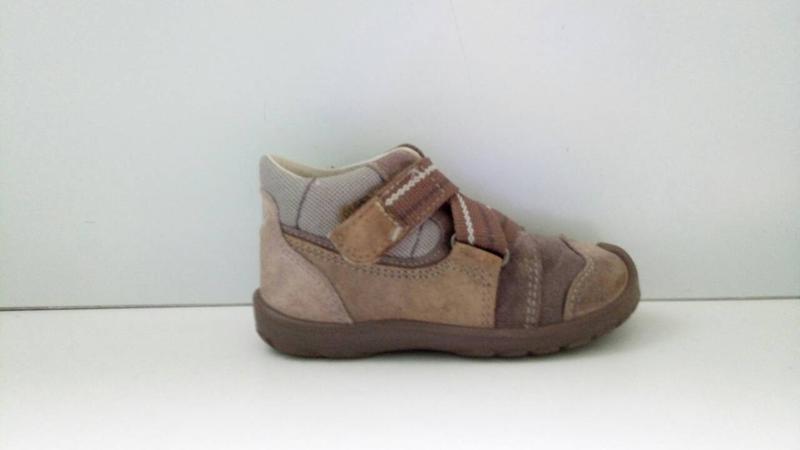 Ботинки superfit, р. 23-24. кожа, замша