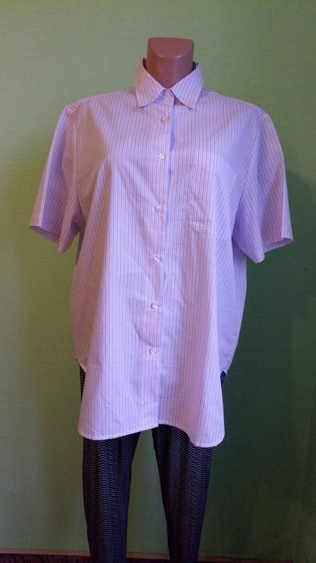 Рубашка блуза damart, р. 52-54.