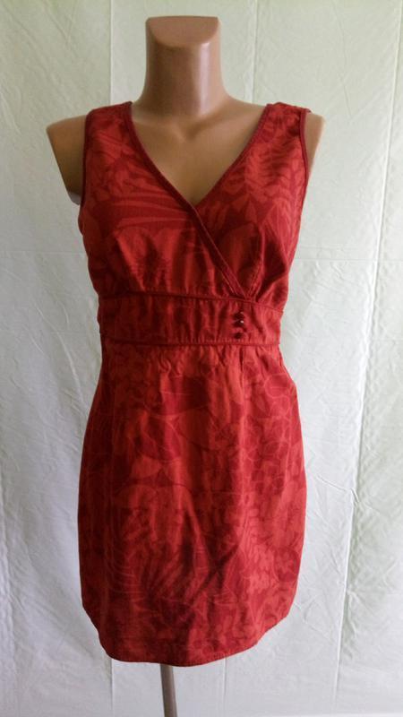 Платье льняное f&f, р. 44-46.