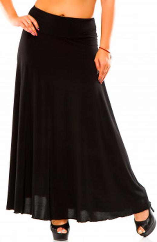 Длинная шифоновая юбка с карманами only