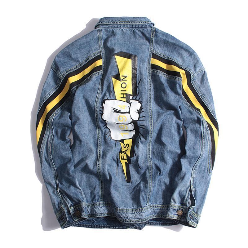 Мужская джинсовая куртка - Фото 2