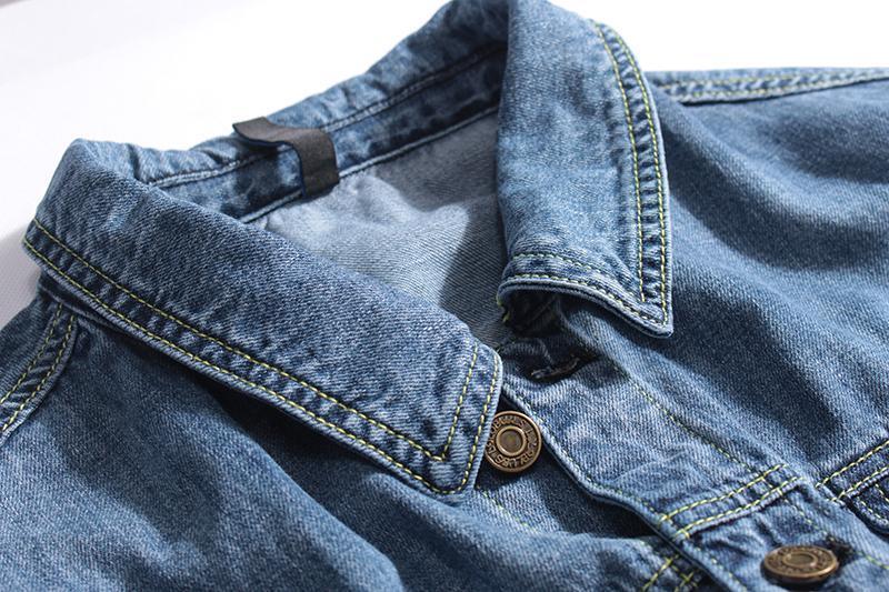 Мужская джинсовая куртка - Фото 4