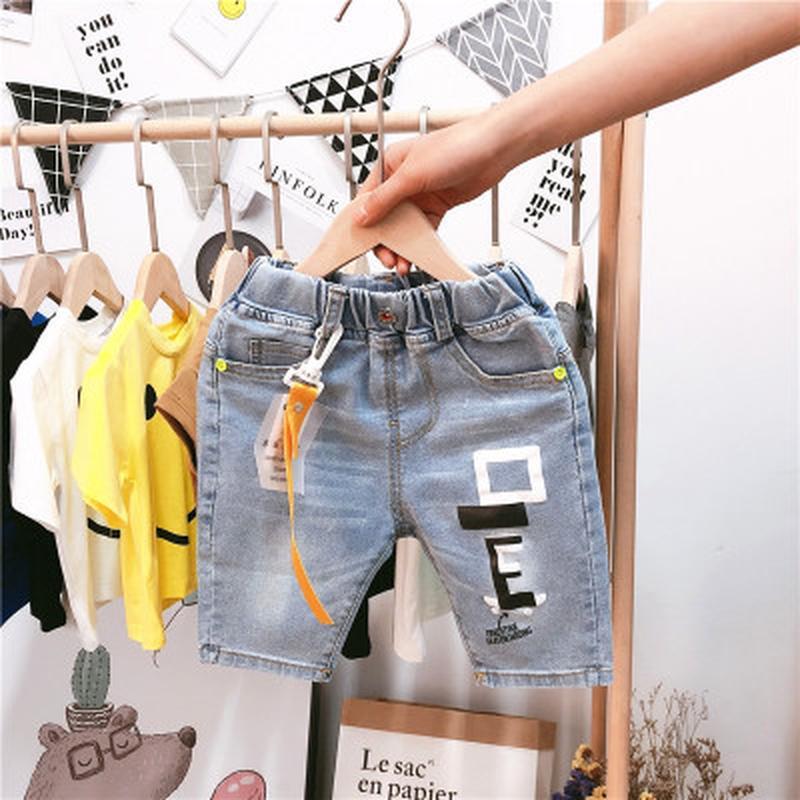 Модные джинсовые бриджи