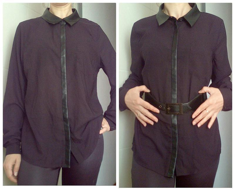 Модная блузка, рубашка с-м