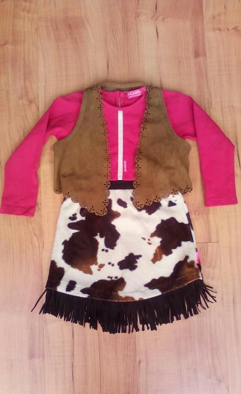 Платье карнавальное, костюм ковбойский на 2-3 годика