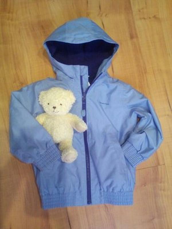 Сиреневая демисезонная курточка на 2-3 годика