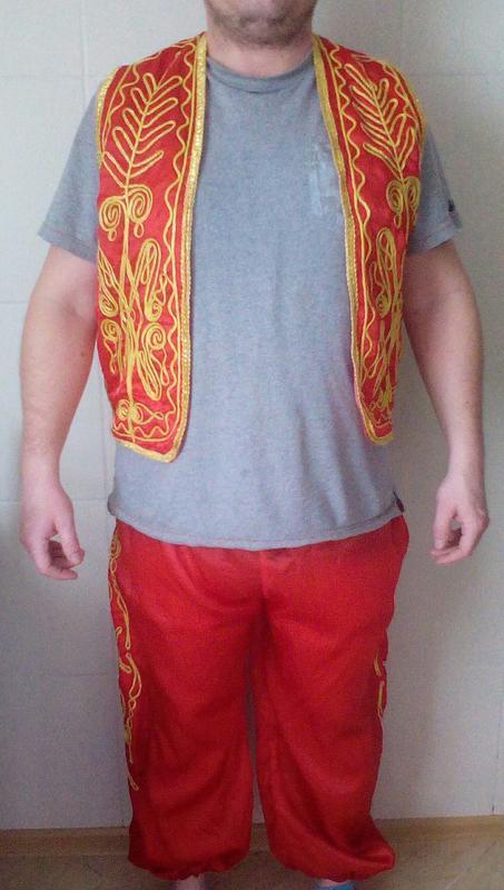 Национальный , карнавальный турецкий костюм  мужской л