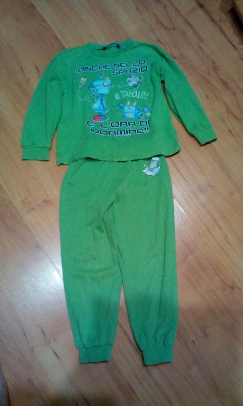 Детская пижама на 4-5 лет