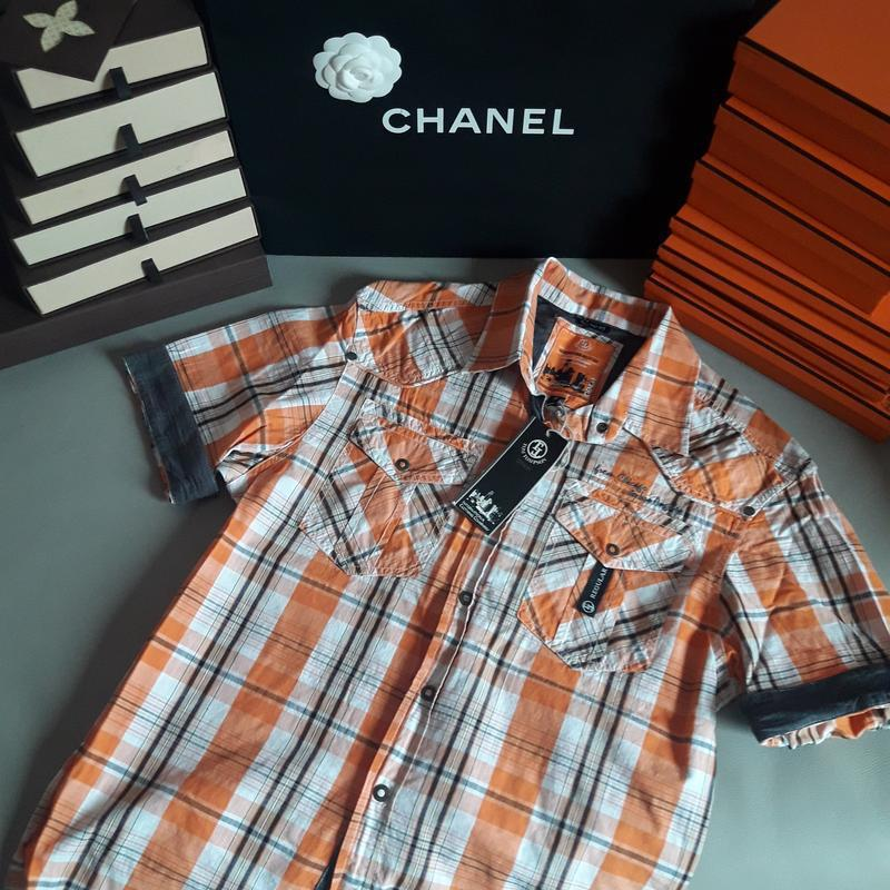 Мужская рубашка tom tompson, германия, супер качество! новая!