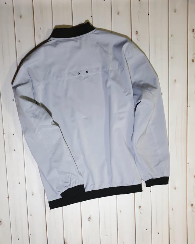 Мужская демисезонная куртка,ветровка,бомбер - Фото 4