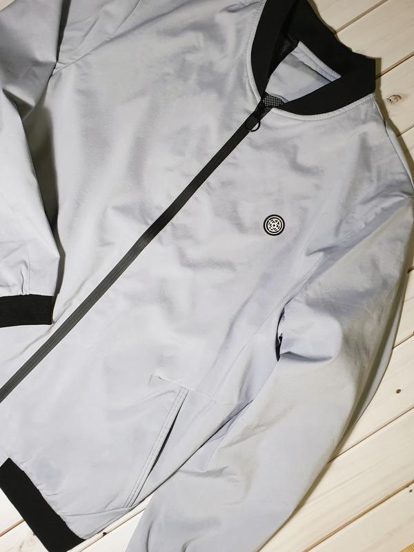 Мужская демисезонная куртка,ветровка,бомбер - Фото 9