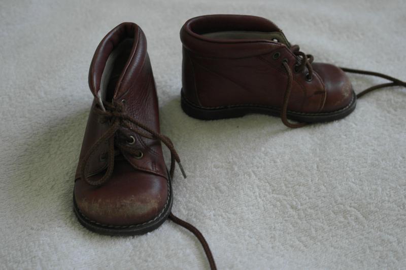 Кожаные ботинки ботиночки демисезон - Фото 2