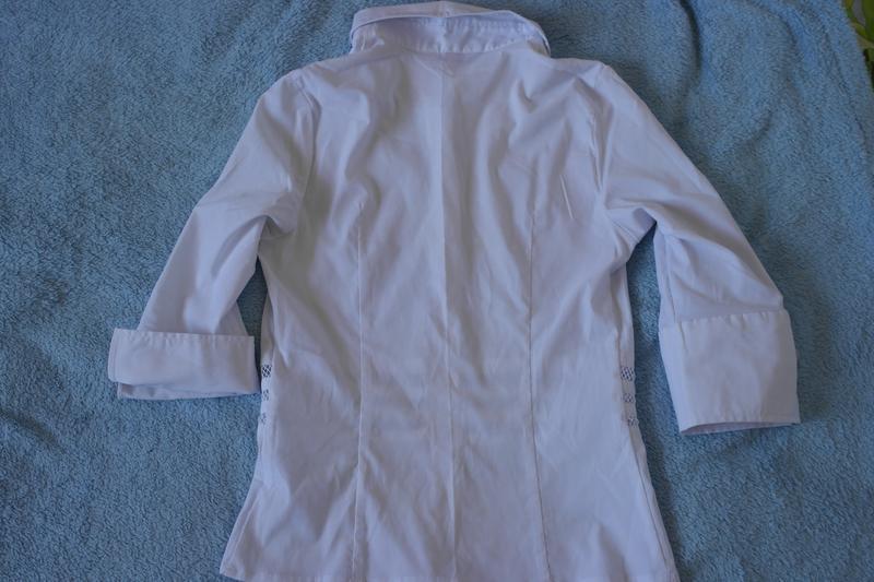 Белая рубашка, блуза - Фото 2