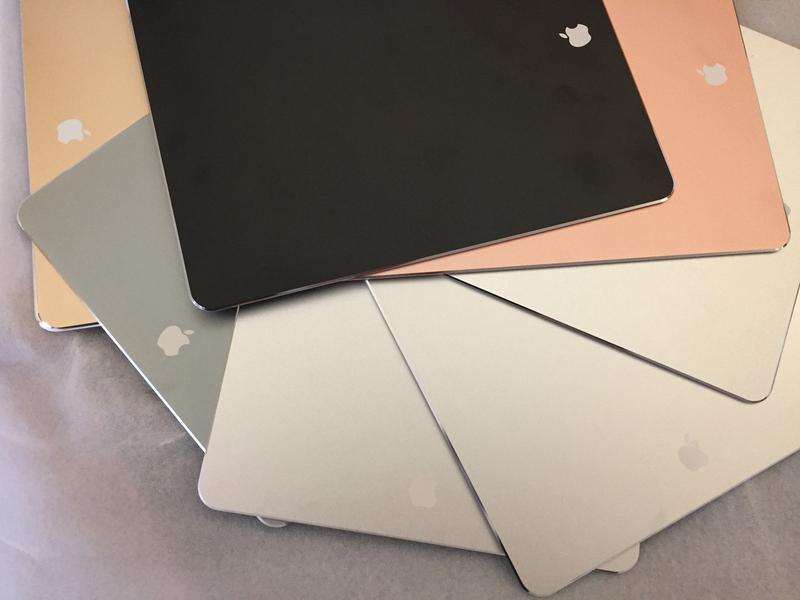 Алюминий коврик для мышки iMac Macbook стиль Aplle с логотипом - Фото 4