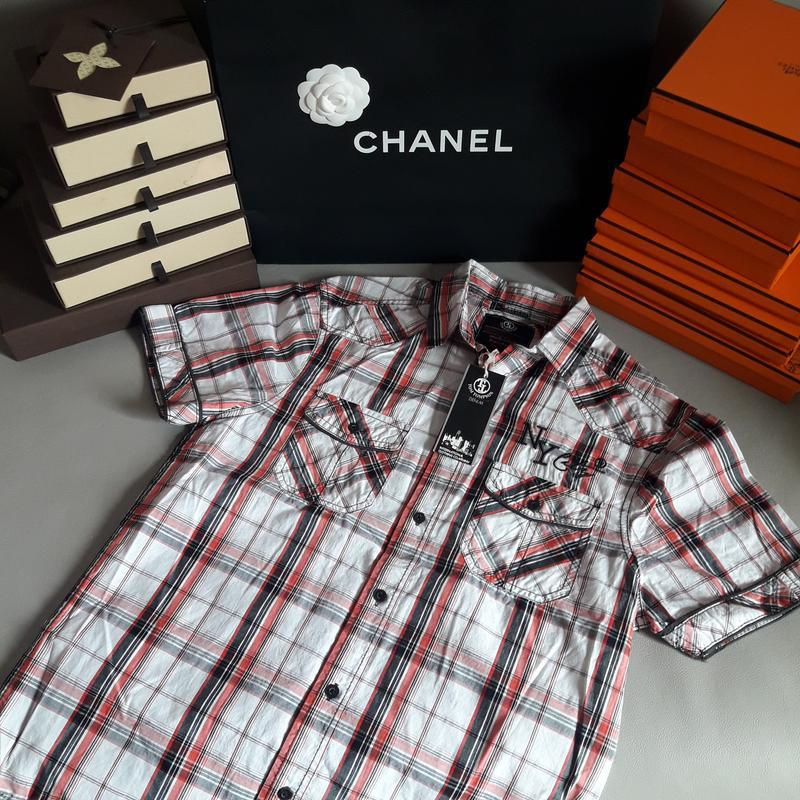Мужская рубашка tom tompson, германия, супер качество! новая! ...