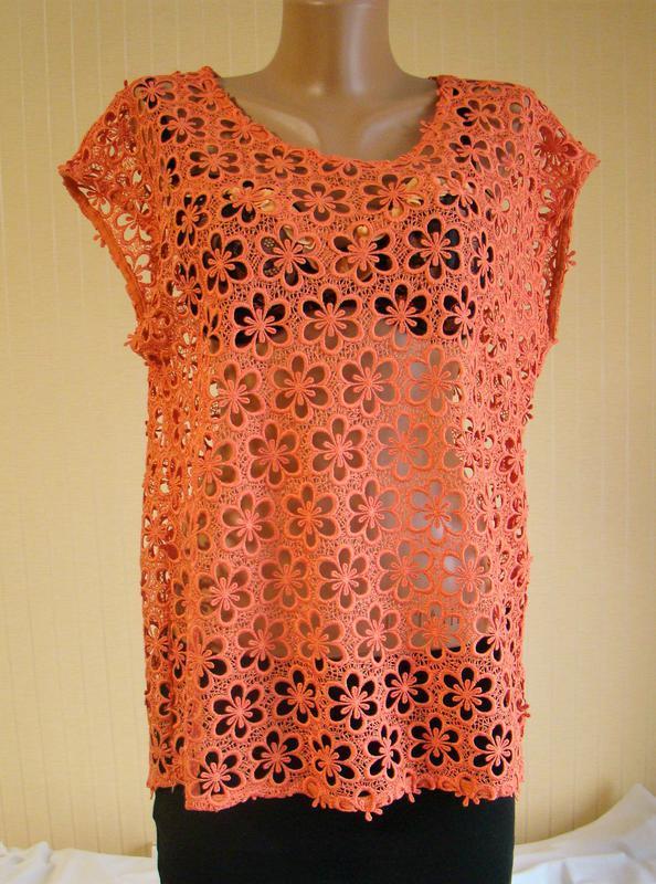Блузка женская кружевная гипюровая нарядная next