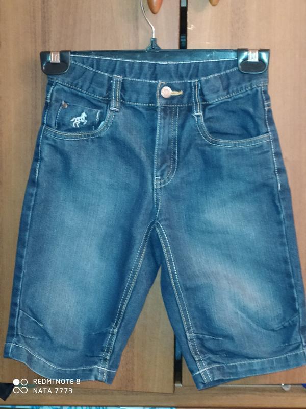 Идеальные джинсовые бриджи palomino,р.122