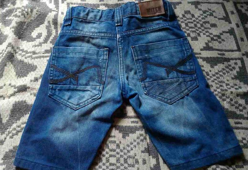 Шорты детские джинсовые 4 - 6 лет б\у