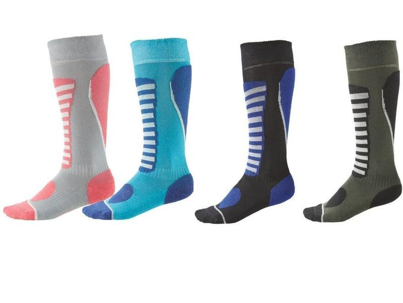 Функциональные зональные лыжные термо носки гольфы crivit герм...