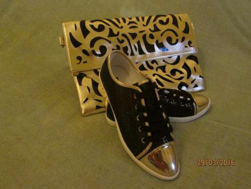 Лоферы кеды туфли со шнурками (реальные фото), р. 36-37-38 - Фото 2
